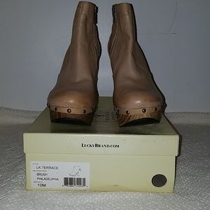 Lucky Brand LK- Terrace Booties. NWT and Box